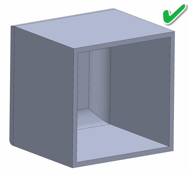 3D Printing - SLA - shelled part design example