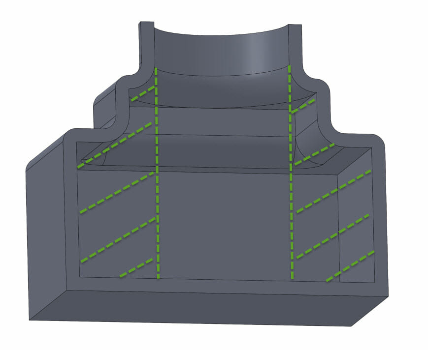3D Printing - SLA - internal support design guide