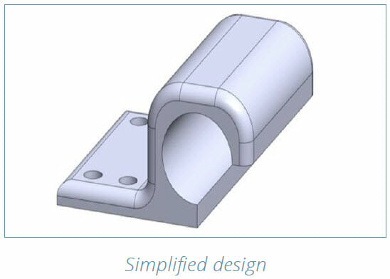 DMLS 3D Printing Design Guide - simplified design