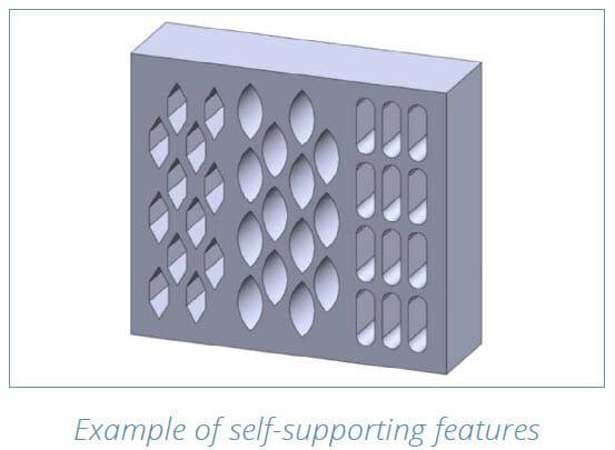 DMLS 3D Printing Design Guide - part redesign example 3