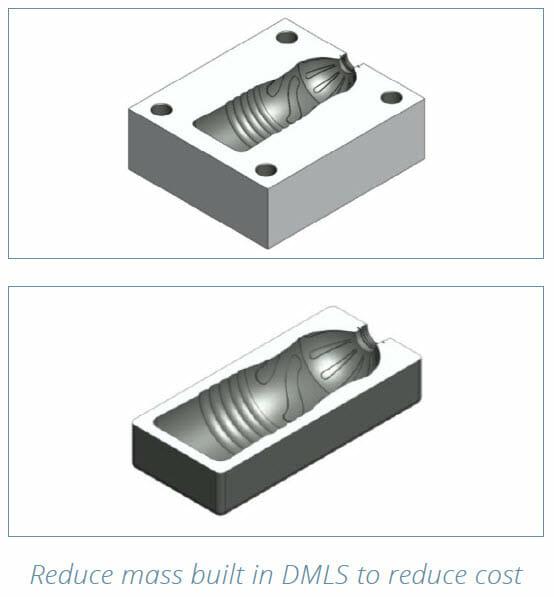 DMLS 3D Printing Design Guide - part redesign example 4