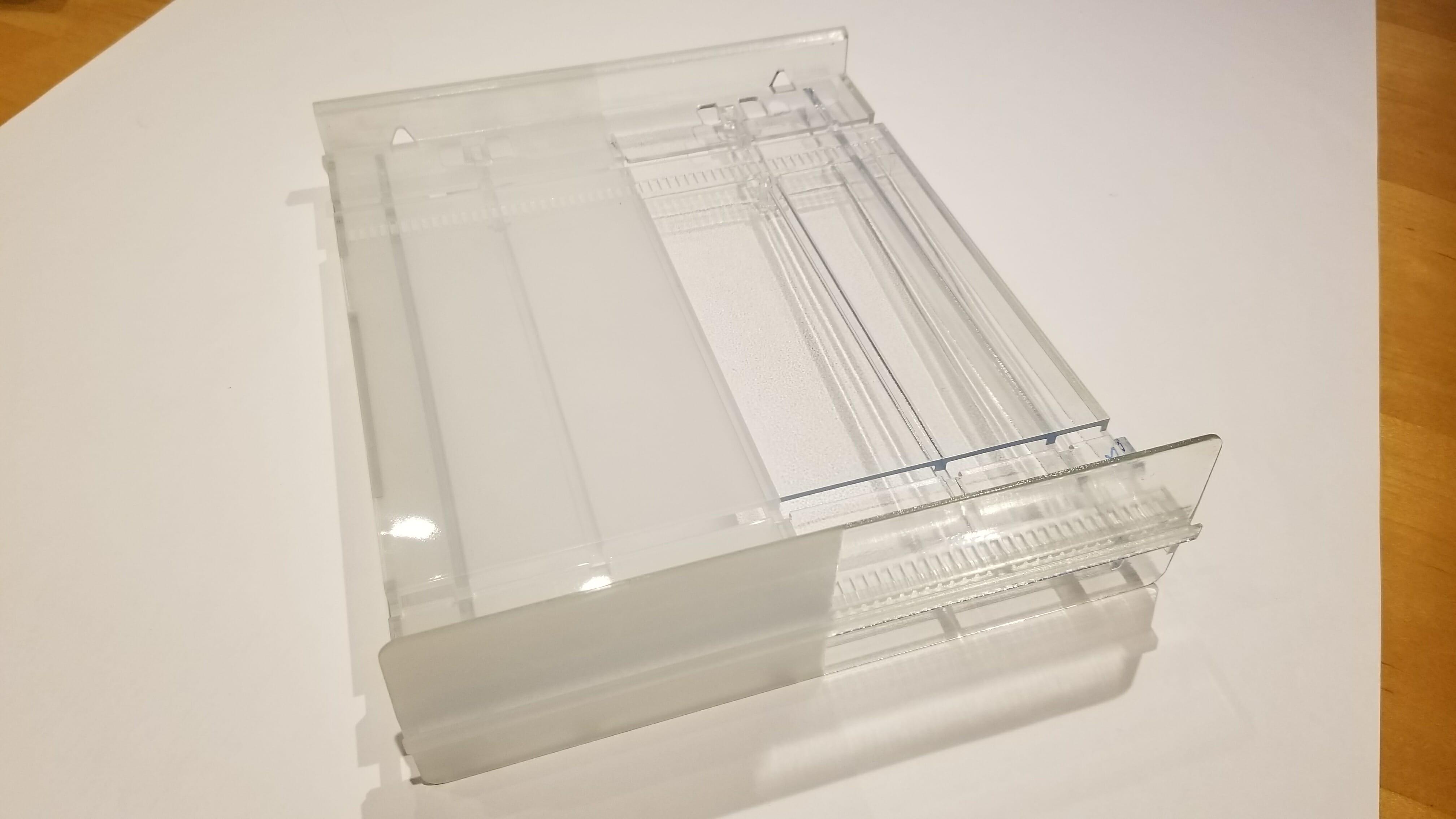 3D Printed Clear Parts - SLA and Polyjet printed lenses, windows