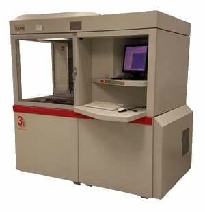 3D Systems SLA 5000 - SLA 3D Printing