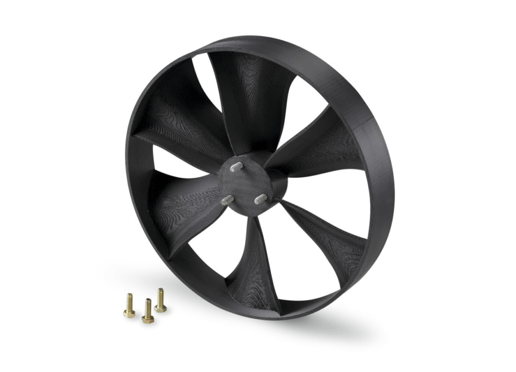 FDM 3D Printing - fan prototype